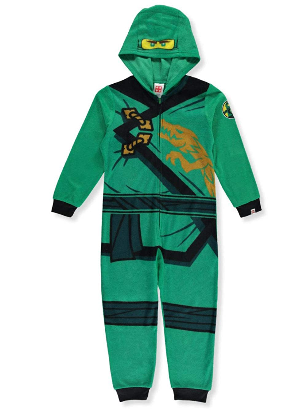 LEGO Ninjago Little Boys' Costume, Onesie Pajamas New Look, All-in-one Set