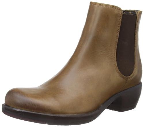 0eb583964ac2 Amazon.com   FLY London Women s Make Chelsea Boot, Camel, 41 EU 10 M ...