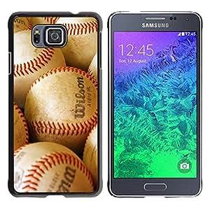 - MLB Baseball - - Monedero pared Design Premium cuero del tir¨®n magn¨¦tico delgado del caso de la cubierta pata de ca FOR Samsung GALAXY alpha G850 SM-G850F G850Y G850M Funny House