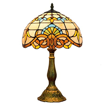 Tiffany Style LáMpara De Mesa CláSicos Europeos Lámpara de ...