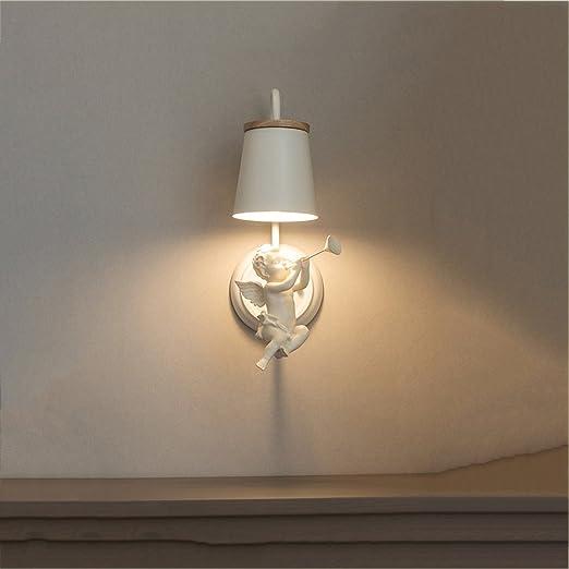 CQ Dormitorio nórdico Lámpara de Pared Pasillo Minimalista Iluminación Moderna Inquilino para niños Hall Escalera Habitación de Matrimonio Lámpara de Noche Lámpara de Pared: Amazon.es: Hogar