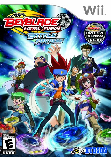 BEYBLADE: METAL FUSION - BATTLE FORTRESS - Nintendo Wii (Video Wii Beyblade Game)