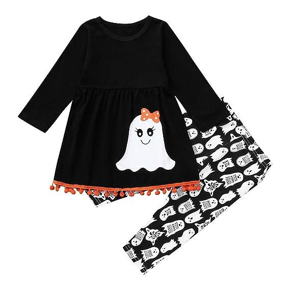 K-youth Conjuntos Bebe Niña Ropa Bebe Niña Recien Nacido Camiseta de Manga  Larga Bebé 371a7fd38d8d