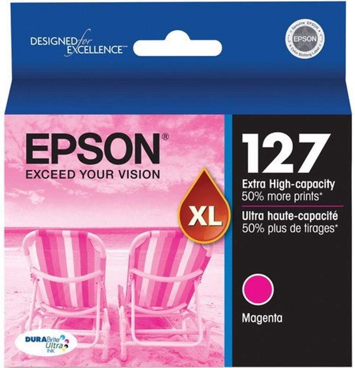 Epson 127 OEM Ink Cartridge: Magenta T127320