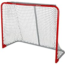 Bauer Performance Folding Steel Goal, 54 x 44-Inch, Red