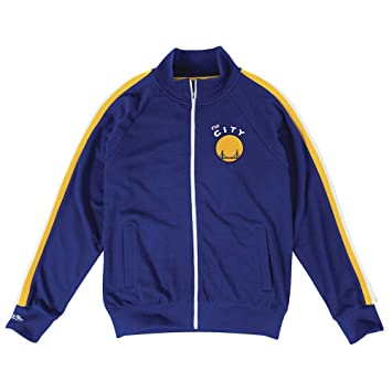 "Golden State Warriors NBA Mitchell & Ness Blue ""Division Champs"" - Chaqueta de"