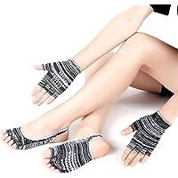 Zoylink Calcetines De Yoga Calcetines Sin Punta Calcetines