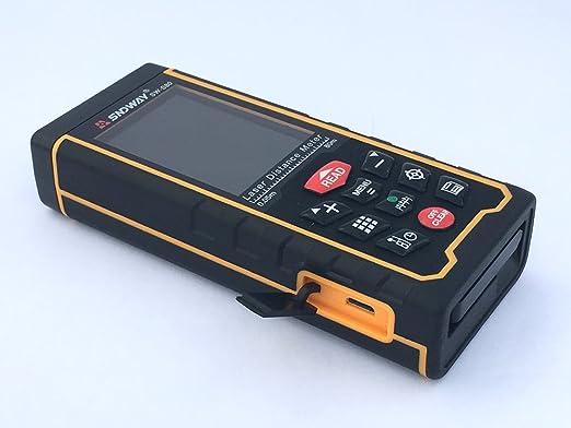 Urceri Laser Entfernungsmesser : Sndway® palmtop lcd display 0 05 bis 80 m 262 ft laser