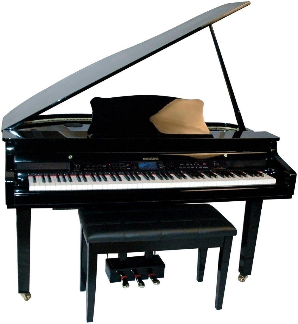 Suzuki 88-Key Digital Pianos - Home MDG-330 bl by Suzuki