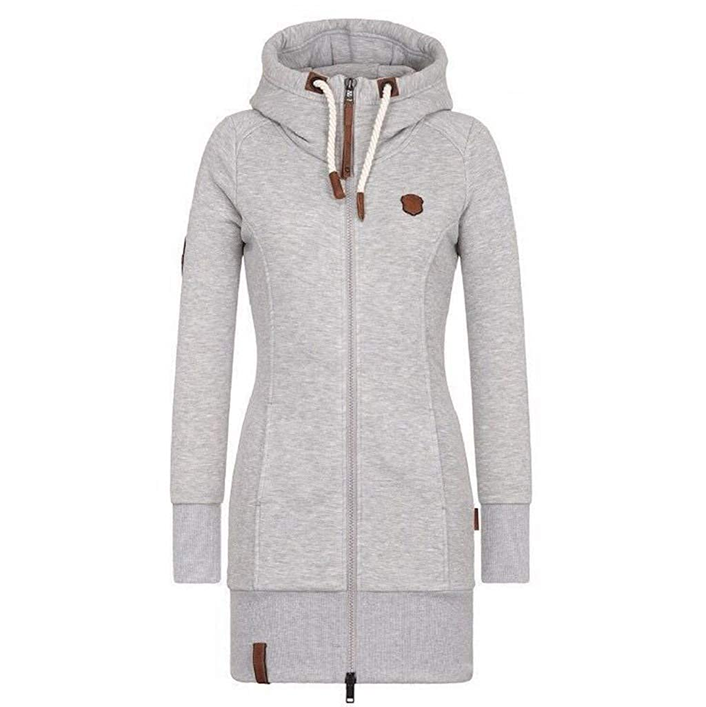 Lylafairy Outwear Jacke Langarm Hoodie Mantel Pullover Sweatshirt Damen Kapuzenpullover jq4ARL35