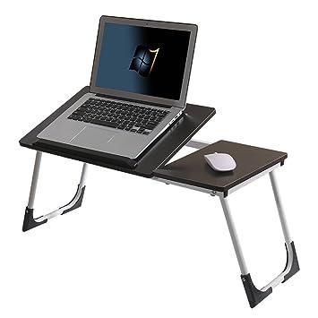 Mesa Plegable de la computadora portátil de la Tabla de la Cama del Estudiante pequeña Mesa