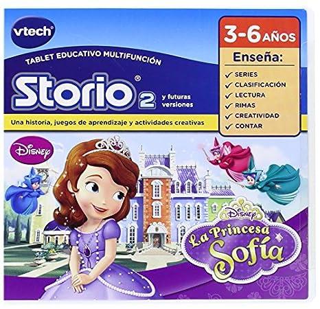 VTech - Juego para Tablet Educativo, Storio, Princesa Sofía (3480-232022)