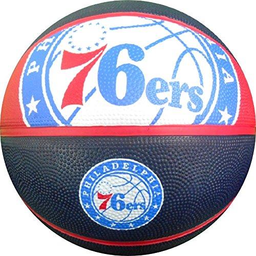 Spalding NBA Philadelphia 76ers Team Logo Basket Ball, 29.5
