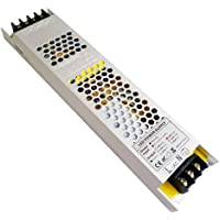 YAYZA! 1-Paquete Controlador de LED Compacto Ultra-Fino IP20 12V 12.5A 150W Adaptador para Interiores Modulo…