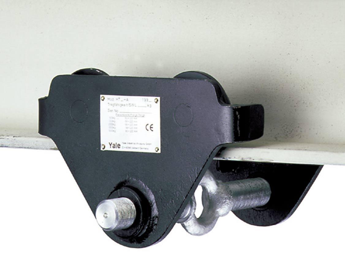 Yale HTP Push Travel Girder//Beam Trolley 1.0t Beam Width 160 mm-300 mm