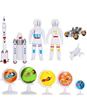 Simulation Plastic Space Plane, Aircraft Rocket Toy Model Space Exploration Astronaut Satellite Shuttle Set Toys Educational Gift for Children