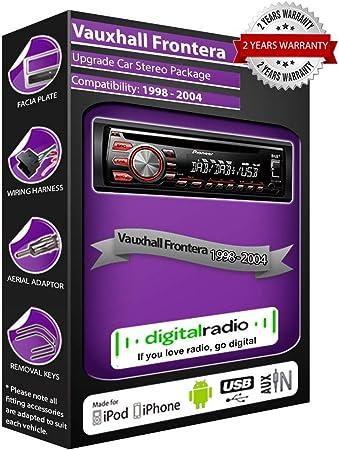 Pioneer Frontera DAB Radio estéreo de coche DEH-4700DAB con antena ...