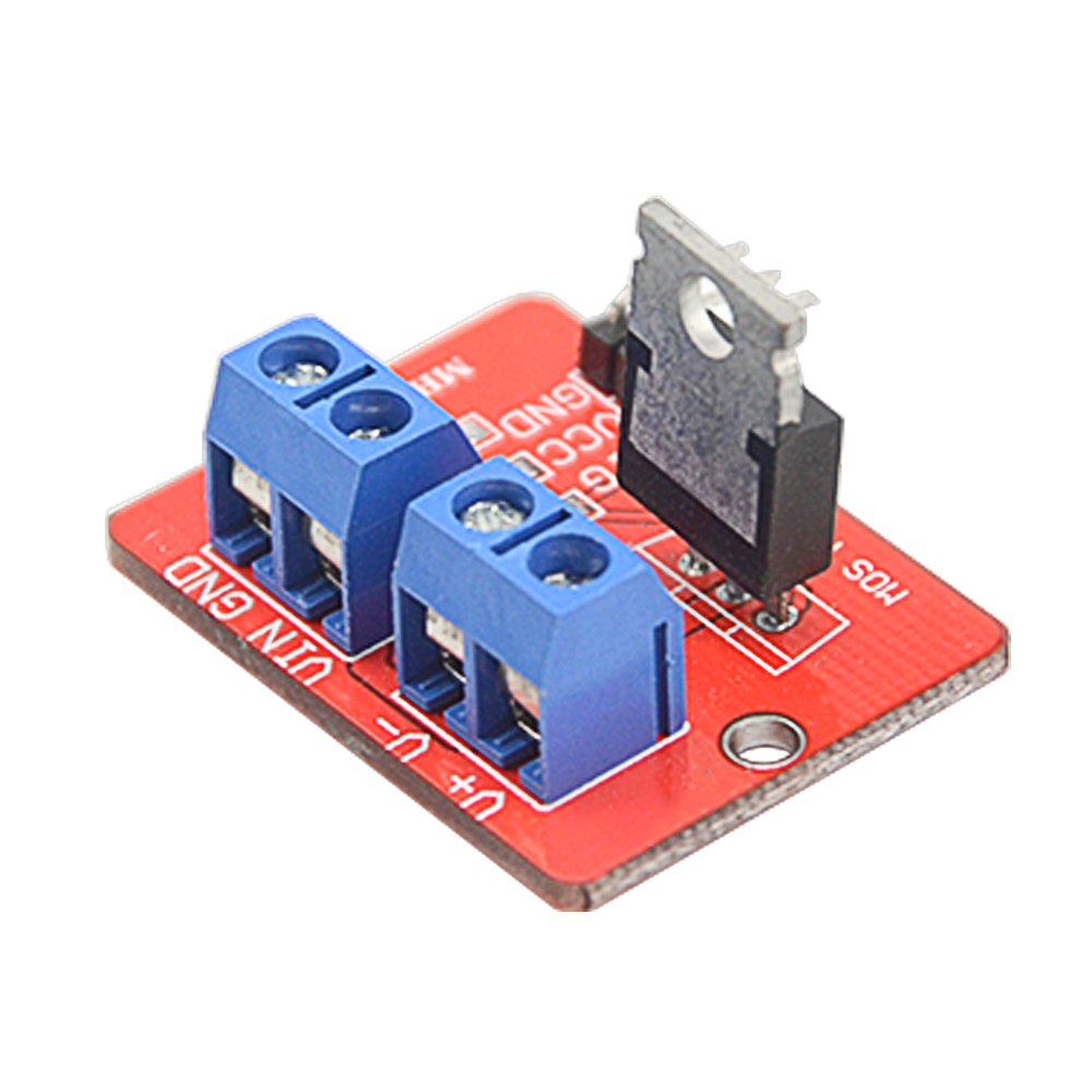 WGCD 10 PCS IRF520 MOSFET Driver Module for Arduino Raspberry Pi by WGCD