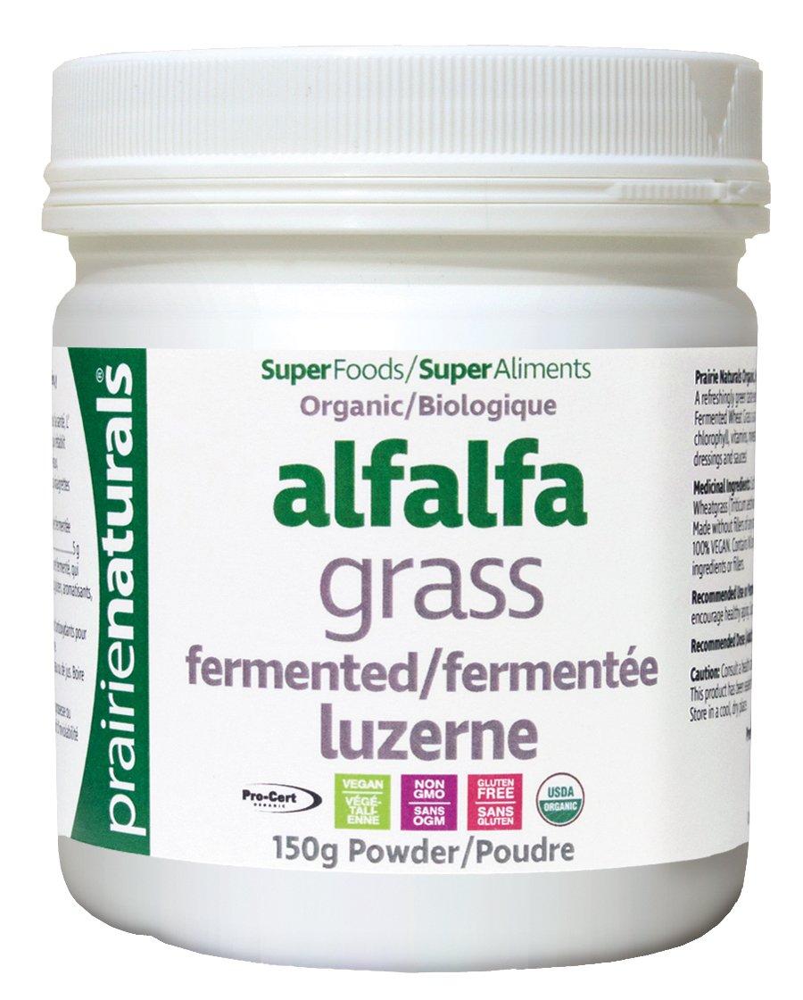 Prairie Naturals Fermented Organic Alfalfa Powder, 5.3 Ounce