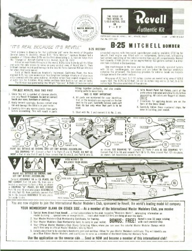 Revell Model Instructions - 5