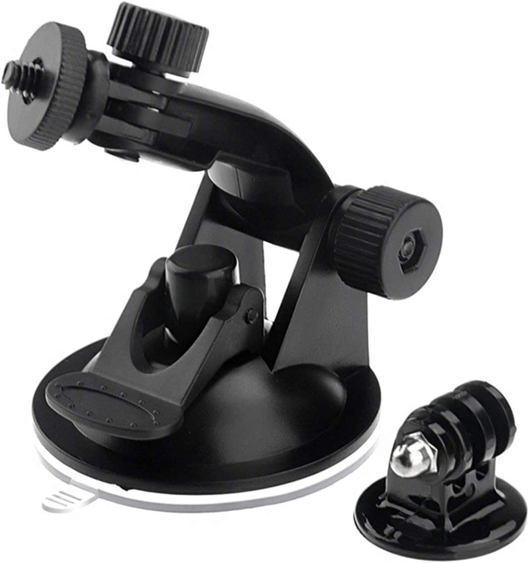 Liobaba Professional Car Suction Cup Adapter Window Glass Tripod Diameter Base Mount Camera Sports Accessories