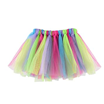 feiXIANG Ropa para niños bebé niña Baile Tutu Falda Tutu Ballet ...
