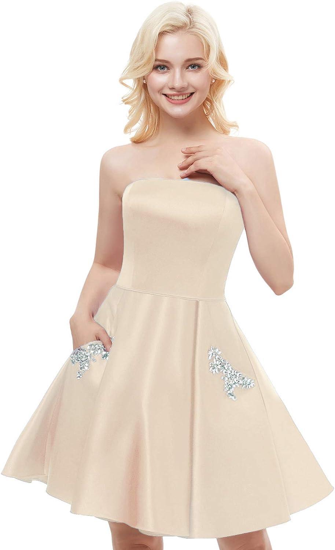 8 Aurora Bridal Womens Feather Ball Gown Sweetheart Short Wedding Dress Yellow