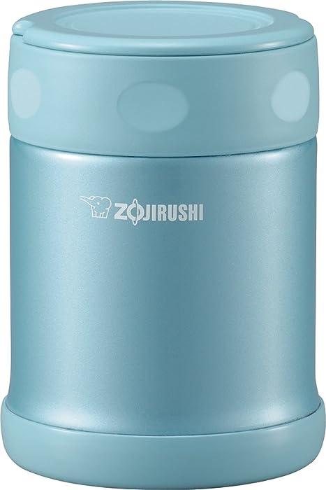 Zojirushi SW-EAE35AB Stainless Steel Food Jar, 11.8-Ounce/0.35-Liter, Aqua Blue