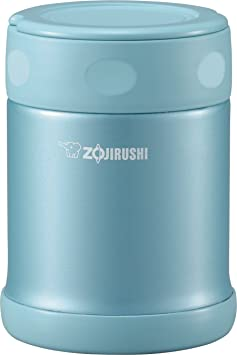 Zojirushi Sw Eae35 Ab Stainless Steel Food Jar, 11.8 Ounce/0.35 Liter, Aqua Blue by Zojirushi