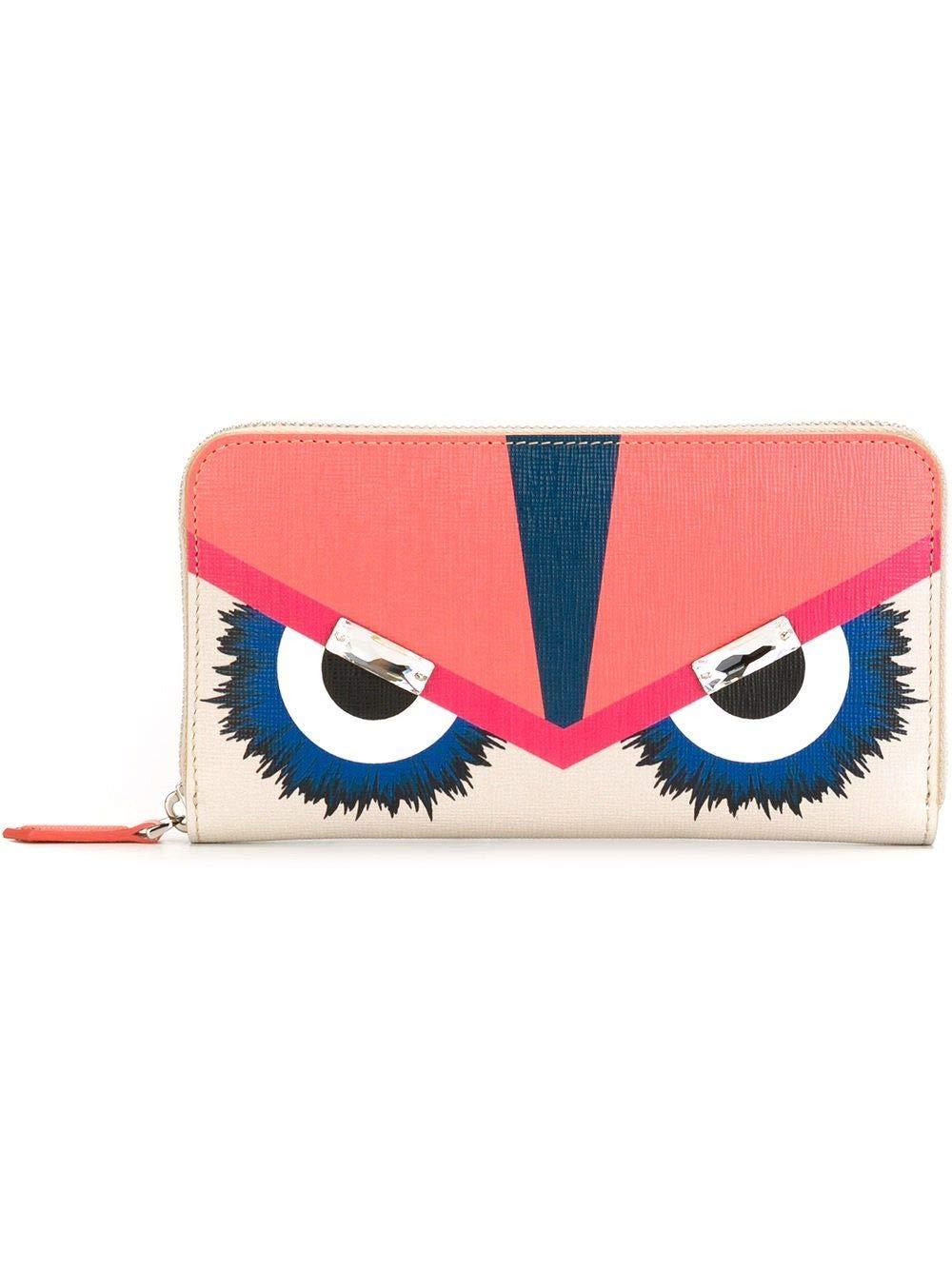 Fendi Women's 8M02997jnf02lz-Mcf Pink Leather Wallet