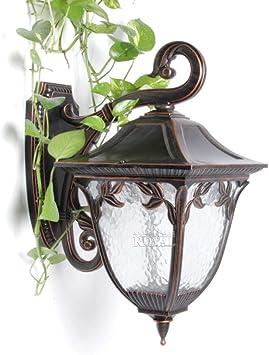 Apliques De Exterior Rusticos Aplique Exterior De Jardín, Iluminación De Comedor. Lámparas De Patio Para Jardín: Amazon.es: Bricolaje y herramientas
