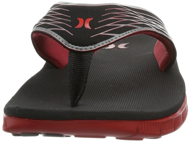 Hurley Shoes Phantom Nike Free Sandal, tongs homme - Rouge - Rot (Gym Red), EU 40 (UK 6/US 7)