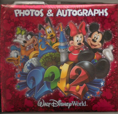 Buy disney autograph book 2012