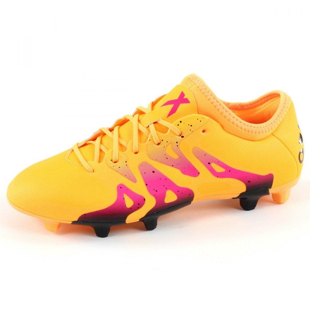Orange adidas X15.2 FG AG, Chaussures de Football Homme 42 EU