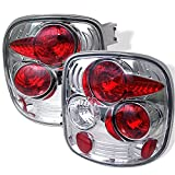 99 chevy stepside - 99-04 Chevy Silverado | GMC Sierra Stepside Model Chrome Clear Tail Lights Rear Brake Driver/Passenger Lamps