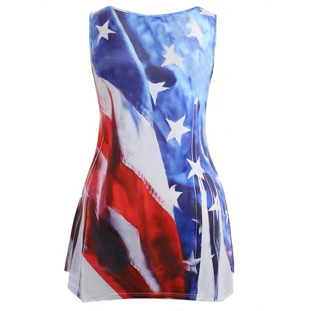 3f3b714307 Design:irregular hem,American Flag Print tank tops,Graphic tank top,funny  print sleeveless shirts,sleeveless,V neck tanks top.Nice gift for  yourself,female ...