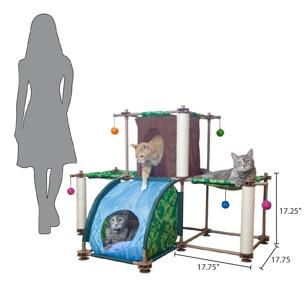 Kitty City Rainforest Tropical Getaway Cat Furniture, Cat Toy & Cat Bed by Kitty City (Image #5)