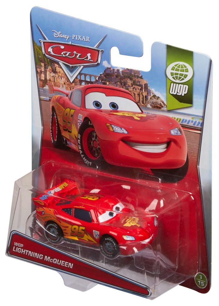 amazon com disney pixar cars wgp lightning mcqueen vehicle toys