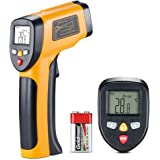 Digital Laser Infrared Thermometer -58℉~ 842℉ (-50℃ ~ 450℃) Non-Contact Temperature Gun Laser Thermometer Gun for Cooking/Brewing/Oven/Pool/Air/Refrigerator/Freezer
