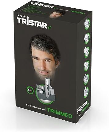 Tristar TR-2553 - Cortapelos para cabello y barba 6 en 1: Amazon ...