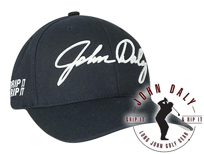 John Daly Golf- Signature Performance Flex Fit Cap at Amazon Men s Clothing  store  bd7a6ea99a1d