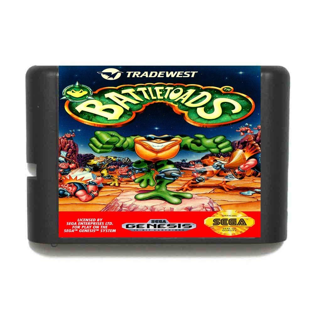 ROMGame Battletoads 16 Bit Md Game Card For Sega Mega Drive For Genesis