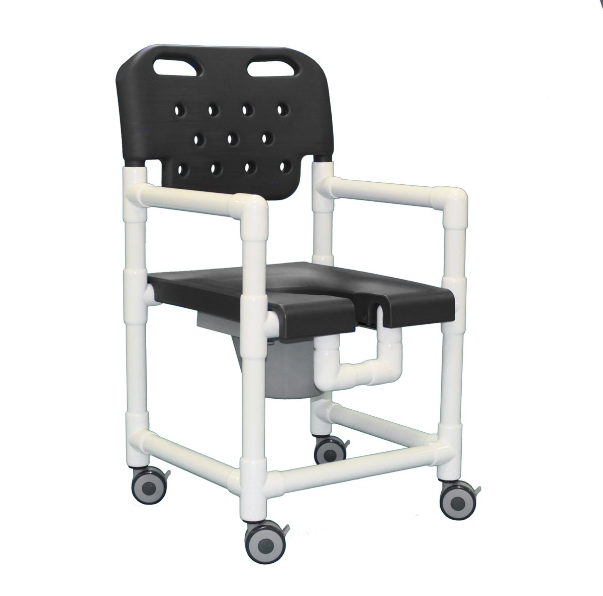 Elite Shower Commode Chair ELT817 P (Gray)