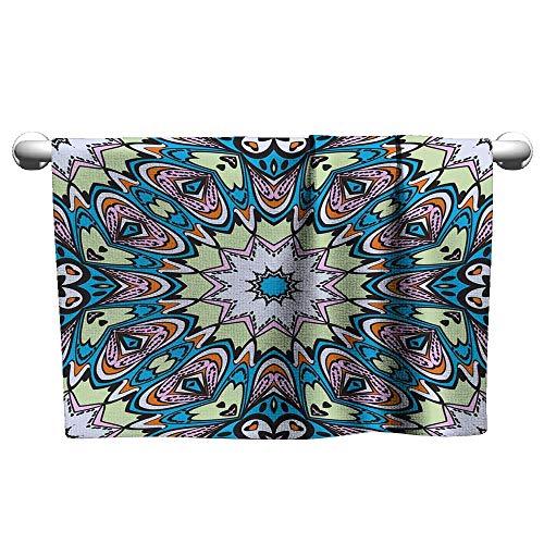 Andasrew Art Towel Art-Deco Fashion Seamless Pattern Vector Illustration for Invitation Wedding Valentine s Background Wallpaper,Bath mat Towel for Bathroom