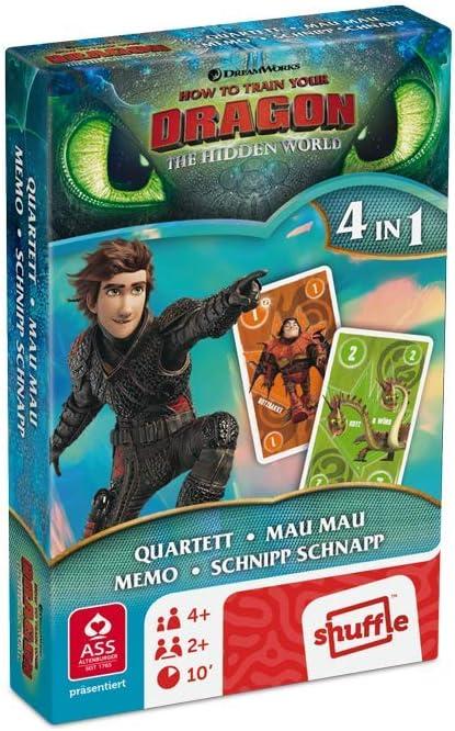 ASS Altenburger 4042677050007 - Juego de cartas - Dragons - Cuarteto , color/modelo surtido: Amazon.es: Juguetes y juegos