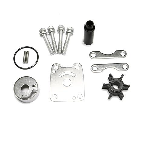 Amazon com : Yamaha 3 HP Parts Outboard Water Pump Rebuild Kit