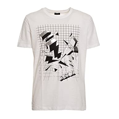 0292d413abde34 Diesel Herren T-Shirt Joe 00SXNS OTAMJ Graphic Tee  Amazon.de ...
