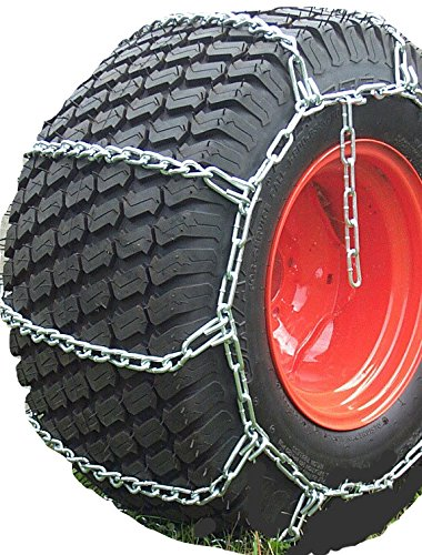 TireChain.com Heavy Duty, 4-link Lawn and Garden Tire Chains, Priced per pair. 8 X 15, 25 X 8.5 X 14, 27 X 8.50 X 15 by TireChain.com (Image #3)
