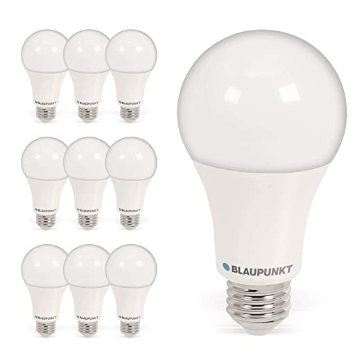 Blaupunkt - Bombilla LED 15W - A65 A27 Clásica - Equivalente a 110W - Blanco Cálido
