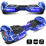 CHO Spider Wheels Series Hoverboard UL2272 Certified Hover Board 6.5 inch Wheels Electric Scooter with Built in Speaker Smart Self Balancing Wheels